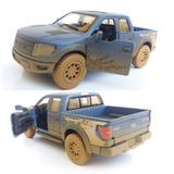 Carrinho Caminhonete Pickup Ford F150 13cm Miniatura Ferro