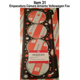 Empacadura Camara Amianto Volkswagen Fox Cross Fox Polo 1.6