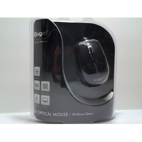 Mouse Zuget-904 Negro 3d Puerto Usb