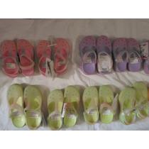 Sandalias Coqui Para Niñas Tallas 30/35 4 Colores Degradados