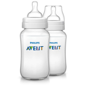 Set De Teteros Philips Avent Clasico 330 Ml / 11 Oz Nuevo