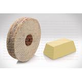 Paño Para Pulir Cepillo Termatizado + Pasta Amarilla