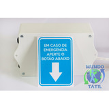 Alarme Pne Audiovisual Sos - Botoeira Botão Emergência 9050