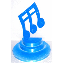 Centros De Mesa Nota Musical P/15 Años Cumpleaños Adornos