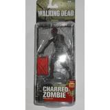 Nuevo Charred Zombie Walking Dead Figura De Zombi Quemado
