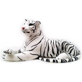 Peluche Gigante De Tigre Blanco | Viahart | 1.82 Metros