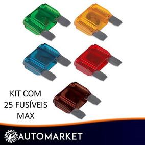 Atacado Kit Com 100 Fusivel Lamina Max 40 Amperes
