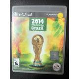 Juego Fifa Brazil 2014 Original En Caja Ps3 Despachamos Hoy
