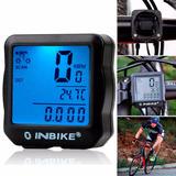 Velocimetro Bicicleta Impermeable Con Luz De Fondo!