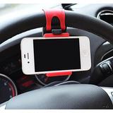 Suporte Celular Volante Veicular Iphone Gps Lg Samsung Nokia