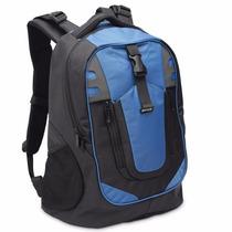 Mochila Para Notebook 15,6 Preto E Azul 609266