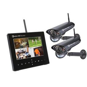 Sistema De Vigilancia De 4 Canales Inalambricos Con 2 Camara
