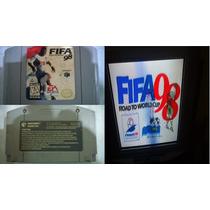 Fifa 98 Road To World Cup Futebol Original Nintendo 64 N64