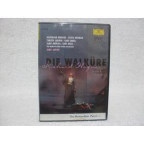 Dvd Duplo Die Walküre- Richard Wagner- Levine- Lacrado