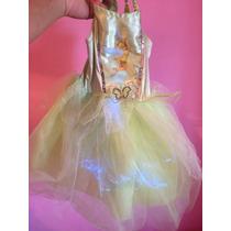 Disfraz Tinkerbell Campanitas Con Luces T S 3 O 4 Años