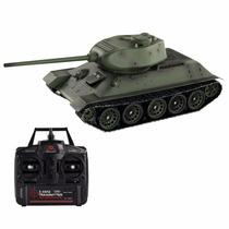 Tanque 1/16 Gigante T34/85 Russia Sonido,humo,disparo