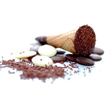 Mini Cone Trufado C/ Chocolate Belga: Super Promoção
