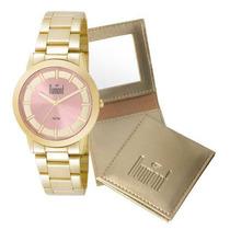 Relógio Feminino Dumont Elements Du2035lpkk/4t - Dourado...