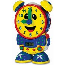 Reloj Interactivo Bilingüe Telly Lampara Sonidos +3 Años