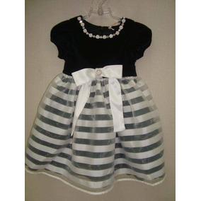 Vestido Listrado Luluzinha Ref: 4261