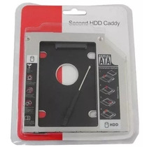 Adaptador Caddy Dvd Para Segundo Hd Ou Ssd 2.5 Sata 9.5mm
