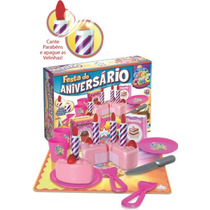 Brinquedo De Comidinha Com Velcro Casinha Meninas Cre Crec