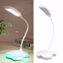 Luminária Led Usb Flexível Maça Apple (iphone) Base Colorida