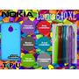 Funda Tpu Crystal Nokia Lumia 640 Xl Excelente Calidad :)
