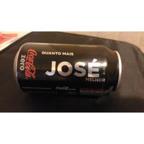 Quanto Mais José Melhor. Lata Coca Cola Zero, Nomes.