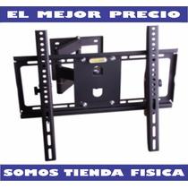 Base De Pared Tv, Led, Plasma, 26 A 55 Brazo Movil Rc-905