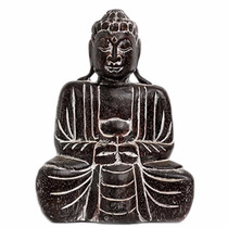 Buda Meditando De Madera