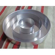 Forma De Bolo Xadrez Em Alumínio