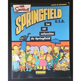 Álbum Panini The Simpsons 4a Colección Springfield