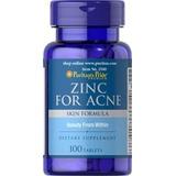 Zinc For Acne Vitaminas A C E B6 Rosa Canina 100 Tabletas