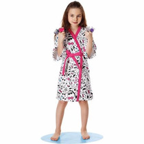 Roupao Felpudo Monster High Infantil - Lepper