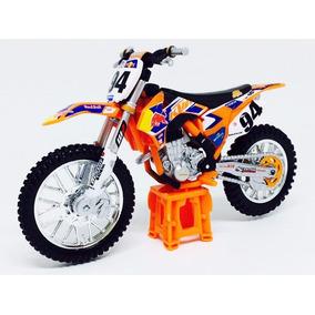 Miniatura De Moto Ktm 450 Sx-f 2014 #94 Red Bull 1:18 Burago