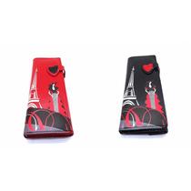 Billetera Multiservicios Dama Fashion Wallet Diseño Paris