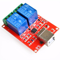 Rele Usb 2 Canales Hid Domotica Raspberry Pi Win