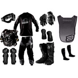 Kit Equipamento Pro Tork Insane Top Piloto Trilha Motocross