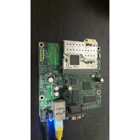 Mikrotik Routerboard Rb411ah + Minipci Ubiquiti