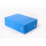 Caja Archivo Plastica Azul Oficio Tv 12 Cms Plana *25 Unid