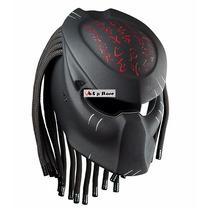 Casco Predator, Casco Depredador Para Motociclista, Helmet