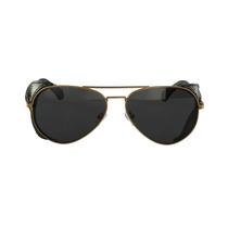 Óculos De Sol Calvin Klein Aviador Marrom
