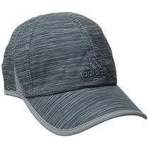 Adidas Gorra Adizero Ii Para Hombre, Grey Space Dye Print, O