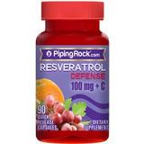 Resveratrol 100mg X 90caps.poderoso Antioxidante Natural Usa