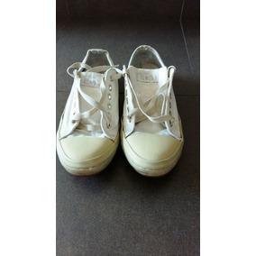 Zapatillas Allstar Mujer Cuero Y Tela 39