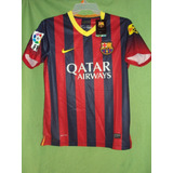 Camiseta Barcelona Fc Local 2013 / 2014 Messi
