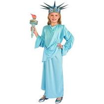 Disfraz Para Niña Traje De Miss Liberty Niño Foro Novedades