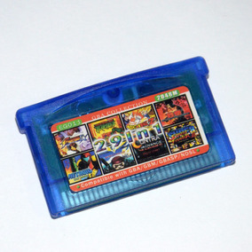 Cartucho Gba Ds 20 Lucha En 1 Street Fighter M Kombat D Ball
