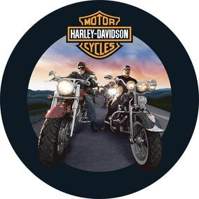 Capa De Estepe Harley Davidson Tracker Pneu 235/60 Aro 16